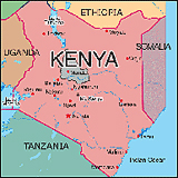 Map of Kenya Research & Conservation Territory